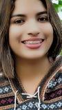 Personne hispanique péruvienne Image libre de droits