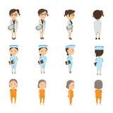 Personne medico Fotografia Stock