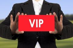 Personne très importante de VIP Images stock