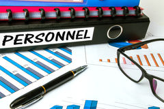 Personnel on business folder Stock Photo