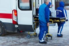 Personnel de premiers secours image libre de droits