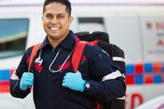 Personnel de service médical de secours images stock