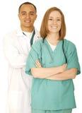 Personnel médical réussi Photo libre de droits