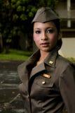 Personnels de l'armée féminins image stock