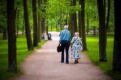 Personnes âgées Photo libre de droits