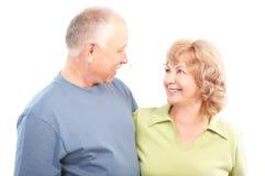 personnes âgées de couples Photographie stock libre de droits