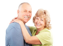 personnes âgées de couples Photographie stock