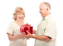 personnes âgées de couples Images libres de droits