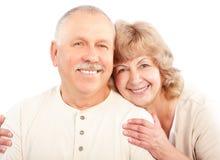 personnes âgées de couples Image stock
