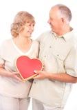 personnes âgées de couples Photos libres de droits