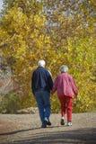 personnes âgées de couples Images stock