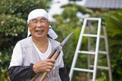 Personnes âgées en bonne santé Photos libres de droits