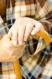 Personnes âgées seules Image stock