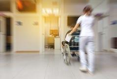 Personnes brouillées à l'hôpital Photos libres de droits