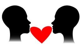 Personnes d'amant Images stock