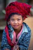 Personnes d'Intha, Myanmar Photo libre de droits