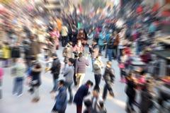 Personnes de foule Photo libre de droits