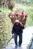 Personnes de Gurung, Népal Photos libres de droits