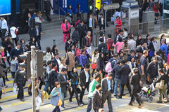 Personnes de Hong Kong Images libres de droits