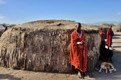 Personnes de Maasai image stock
