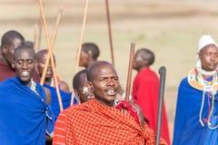 Personnes de masai en Tanzanie Photographie stock libre de droits
