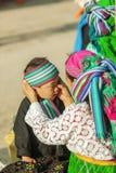 Personnes de minorité ethnique de mère et de fils photographie stock libre de droits