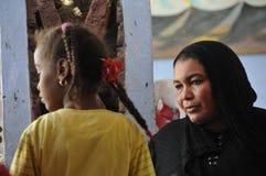 Personnes de Nubian Images libres de droits