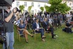 Personnes de REN PAPE POULSEN_media de ½ de ¿ de DENMARK_Sï image libre de droits
