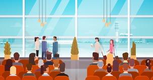 Personnes de voyageur dans l'aéroport Hall Departure Terminal Travel, passager s'asseyant dans la salle d'attente Photos stock