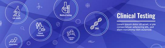 Personnes des icônes W de soins de santé dressant une carte la maladie ou scientifique médicales illustration de vecteur