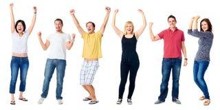 Personnes diverses heureuses Photographie stock libre de droits