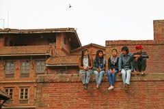 Personnes du Népal Images stock