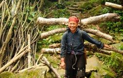 Personnes ethniques au Vietnam Photo libre de droits