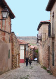Personnes locales, Siguenza Images stock