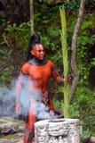 Personnes maya au Mexique Images libres de droits