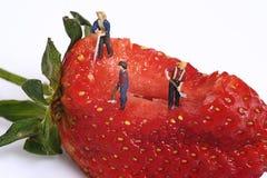Personnes miniatures photo stock