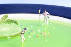 Personnes miniatures photographie stock libre de droits