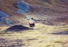 Personnes péruviennes image libre de droits