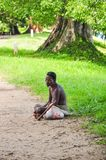 Personnes traditionnelles dans Sri Lanka photo stock