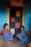 Personnes tribales en Inde photo stock
