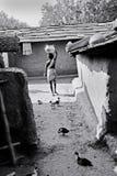 Personnes tribales en Inde Images libres de droits