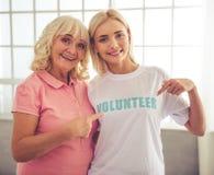 Personnes volontaires et âgées Photographie stock libre de droits