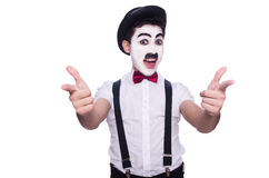 Personnification de Charlie Chaplin Photo stock