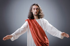 Personnification de Jésus-Christ image stock