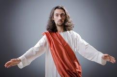 Personnification de Jésus-Christ Image stock