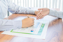 Persons in bussiness situation Royalty Free Stock Photo