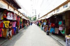Persons shopping at Baclaran market, Manila Royalty Free Stock Photos
