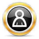 Personsymbol Fotografering för Bildbyråer