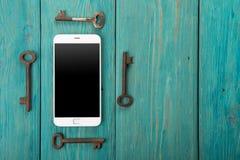 persoonlijk informatiebeveiligingsconcept royalty-vrije stock foto