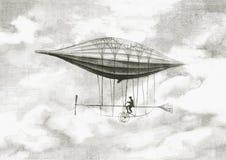 Persoonlijk luchtschip stock illustratie